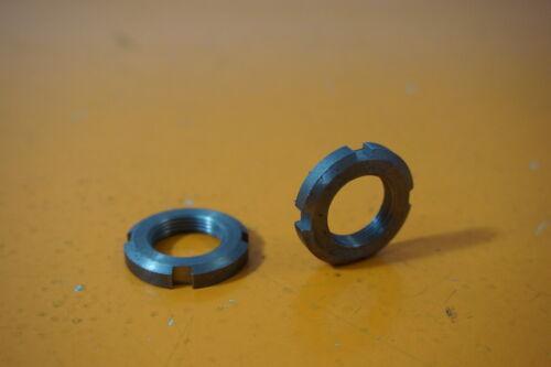 2x Nutmuttern KM3 M17 x 1 DIN 981 03580033 Stahl Nutmuttern 5,00€//Einheit