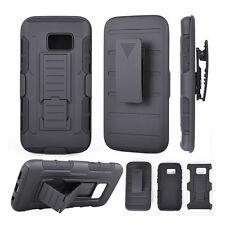 Custodia cover SLIDING RUGGED per Samsung Galaxy S7 Edge G935F clip cintura NERA