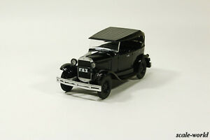Deagostini-A-GAS-1932-Auto-Legends-of-USSR-scale-model-cars-1-43