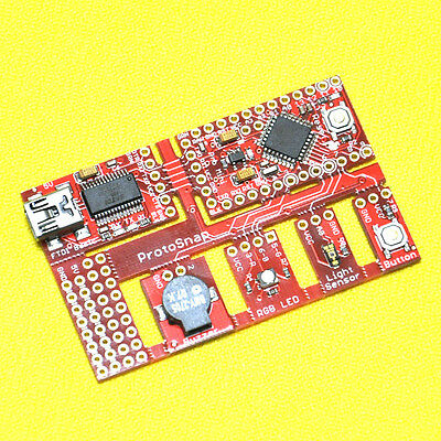 7in1 ProtoSnap Pro Mini ATMEGA328P A3 &TEMT6000 & FTDI Basic FT232RL For Arduino
