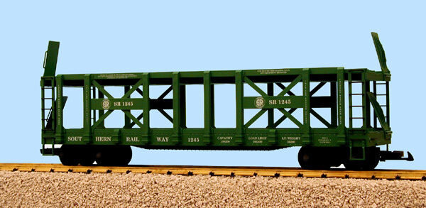 USA Trains G Scale R17228 Southern Two-Tier Auto Carrier