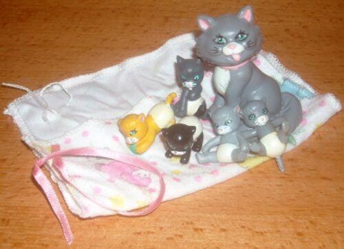 e Magic diaper Little Joys Mommy and 5 babies full set 1992 galoob rare