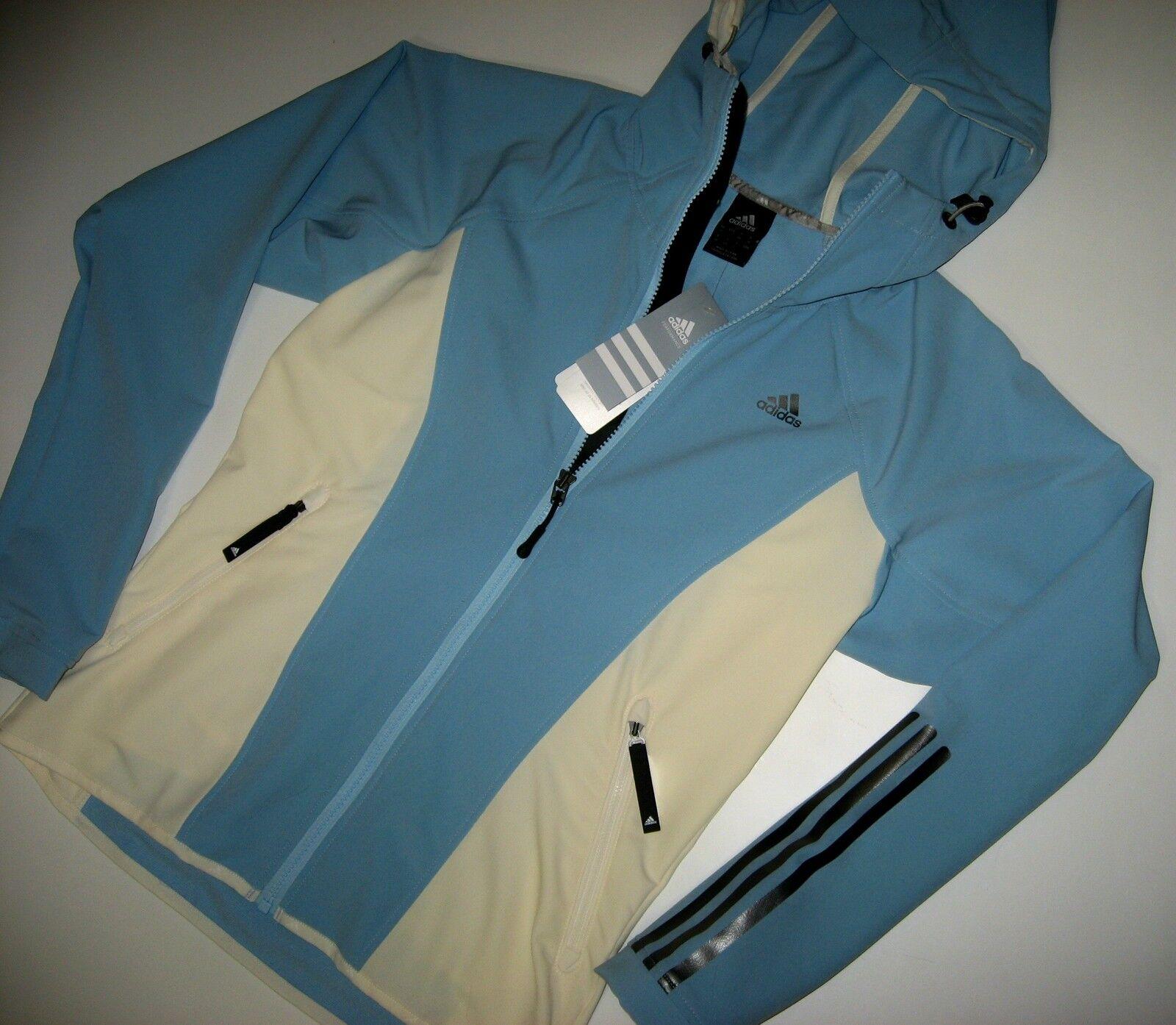 adidas W Trail SoftshellJacke E13527 Wind- und Wetterschutz hellblau