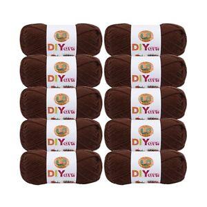 brown Art Supplies Lion Brand Diyarn