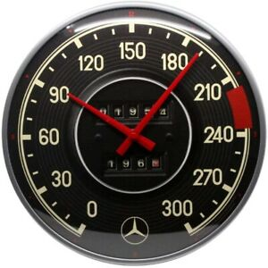Wall-Clock-Mercedes-Tacho-Meter