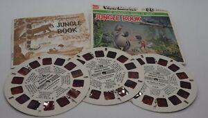 View Master Disney Cartoon The Jungle Book Reel Packet & Booklet B363