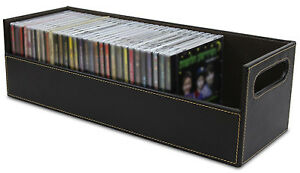 CD Storage Box Rack Holder Stacking Tray Shelf DVD Disk ...