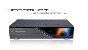 Dreambox-DM920-UHD-4K-1x-DVB-S2-Dual-Tuner-E2-Linux-PVR-Receiver