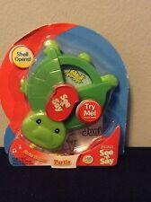 NIB  Mattel Fisher Price See N Say Junior Surprise Turtle Baby Learn Play Kids