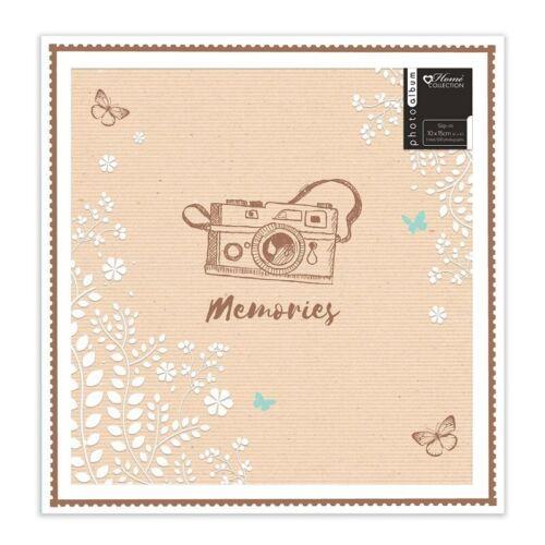 Gran Diseño Hermoso Golden Recuerdos Álbum de fotos contiene 500 fotos 6x4