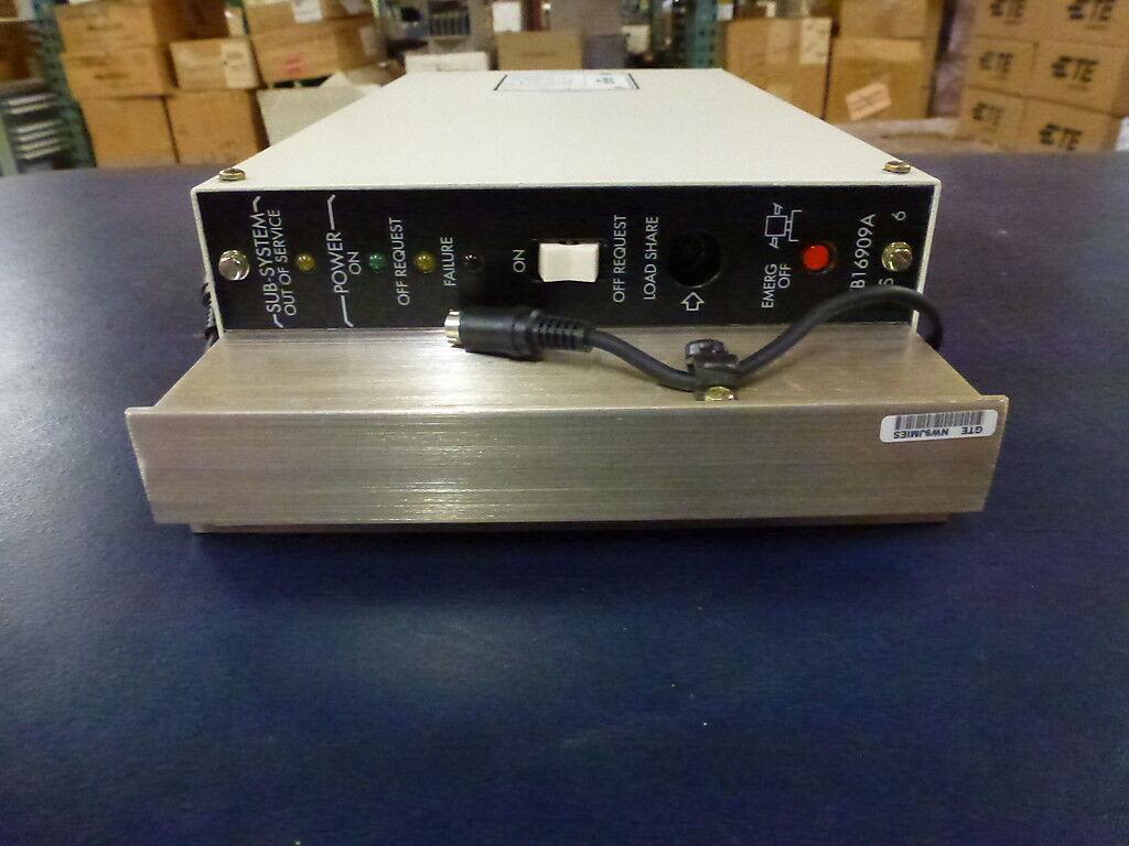 Lorain GTE FB-16909A GTD-5 Power Supply DB2S201 CLEI EGPUCM0CAA