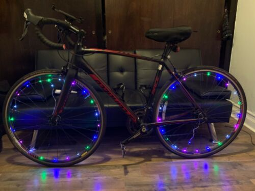 20 LED Bicycle Bike Cycling Rim Wheel Lights On Off Flash Spoke Light String