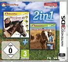 Pferd & Pony 2in1: Mein Gestüt 3D / Mein Westernpferd 3D (Nintendo 3DS, 2016)