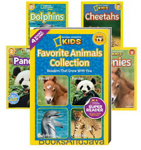 National Geographic Readers : Favorite Animals Collection : Ponies, Dolphins....
