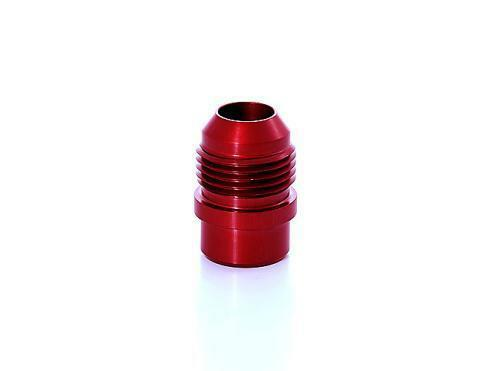 Press In RED 10AN Valve Cover Breather Adapter