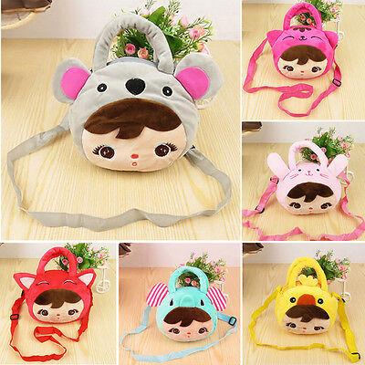 Cute Child cartoon satchel Girl's shoulder Messenger bag Handbag Totes ZB0180
