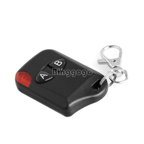 433MHz 2 Button RF Wireless Remote Control Transmitter Garage Door DC12V
