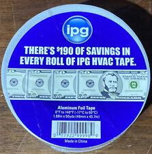 Ipg Aluminum Hvac Foil Tape 188 X 50 Yd