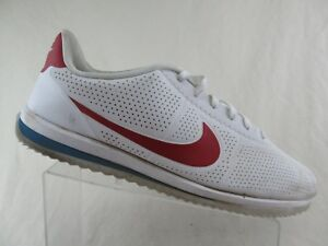 NIKE-Cortez-Ultra-Forest-Gump-White-Red-Blue-Sz-14-Men-Athletic-Shoes