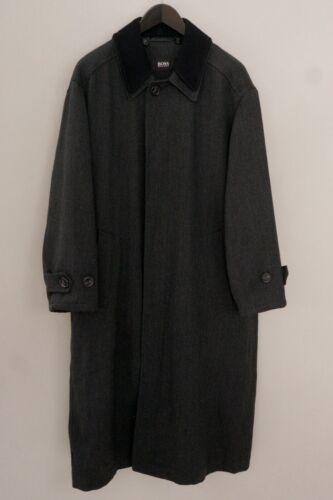 Men Hugo Boss Coat Wool Long Casual Business XXL Z