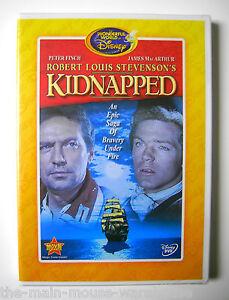 Robert-Louis-Stevenson-KIDNAPPED-Rare-Vault-DVD-The-Wonderful-World-of-Disney