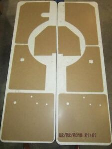 Details about Complete interior panel set fits Willys Wagon 54-63