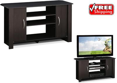 Furinno 14055EX Econ TV Stand Entertainment Center Espresso