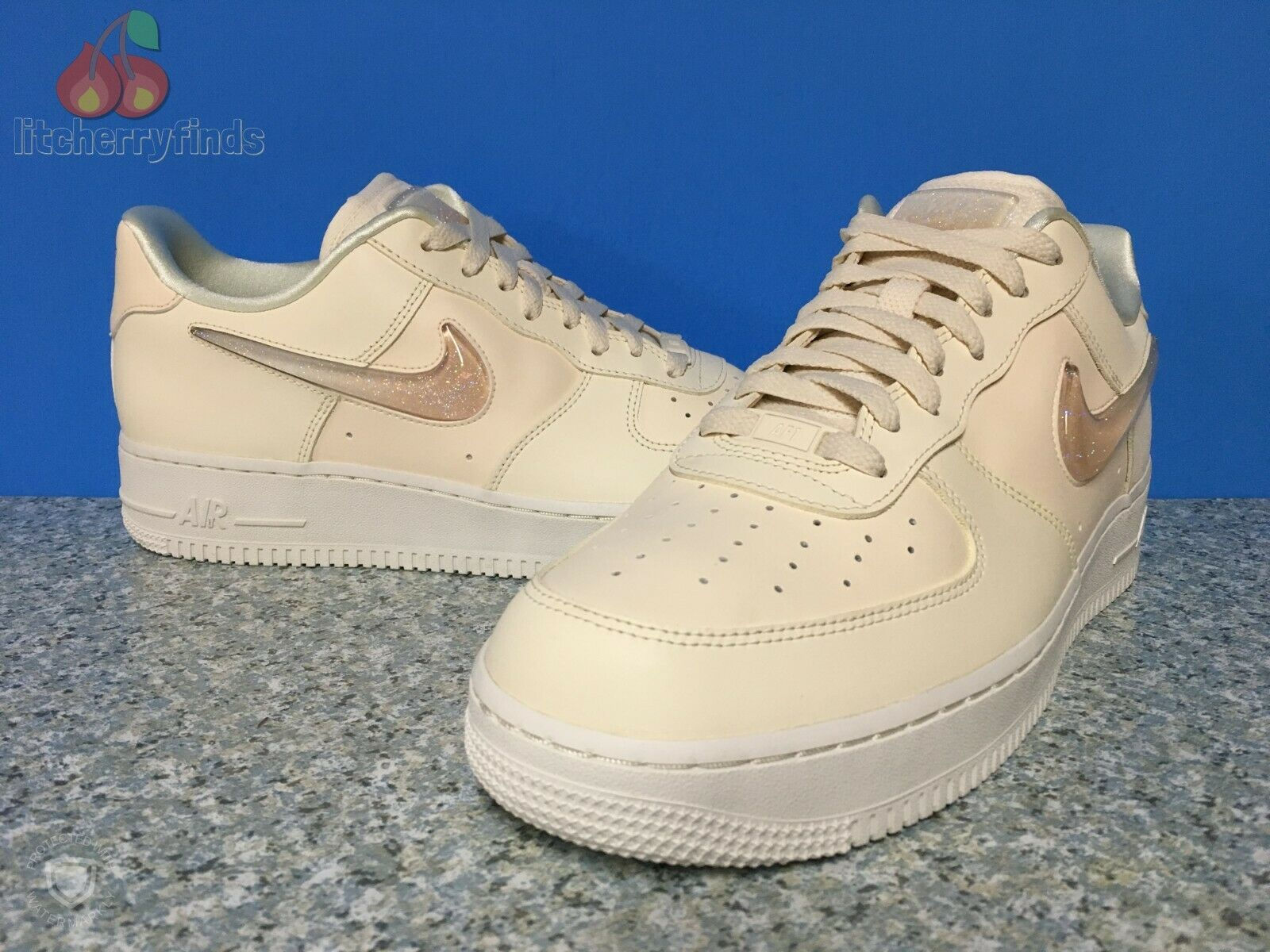 Nike Air Force 1 '07 SE PRM Womens Size 12 Jelly Puff Pale Ivory Summit White