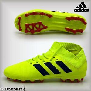 Adidas-nemeziz-18-3-AG-Chaussures-De-Football-Taille-UK-10-12-3-4-4-5-5-5-5-Garcons-Filles