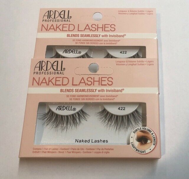 Lot of 2, Ardell Naked Lashes 422