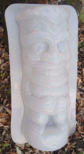 "tiki half pedestal mold 1//8th/""  poly plastic 17/"" x 7/"" x 4/"" thick"