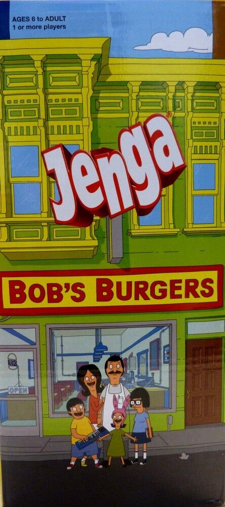 Jenga Spiel Bob`s Burgers  (englisch )NEU OVP