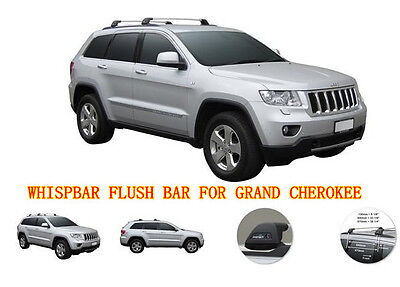 #809 PRORACK WHISPBAR ROOF RACK(FLUSH BAR S25) FIT JEEP GRAND CHEROKEE 2011-2015