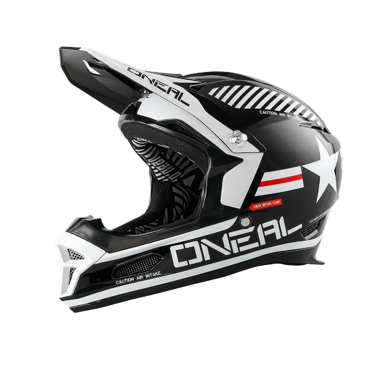 ONeal Fury RL Helm Afterburner Action Cam MTB Fullface DH Mountainbike Fahrrad