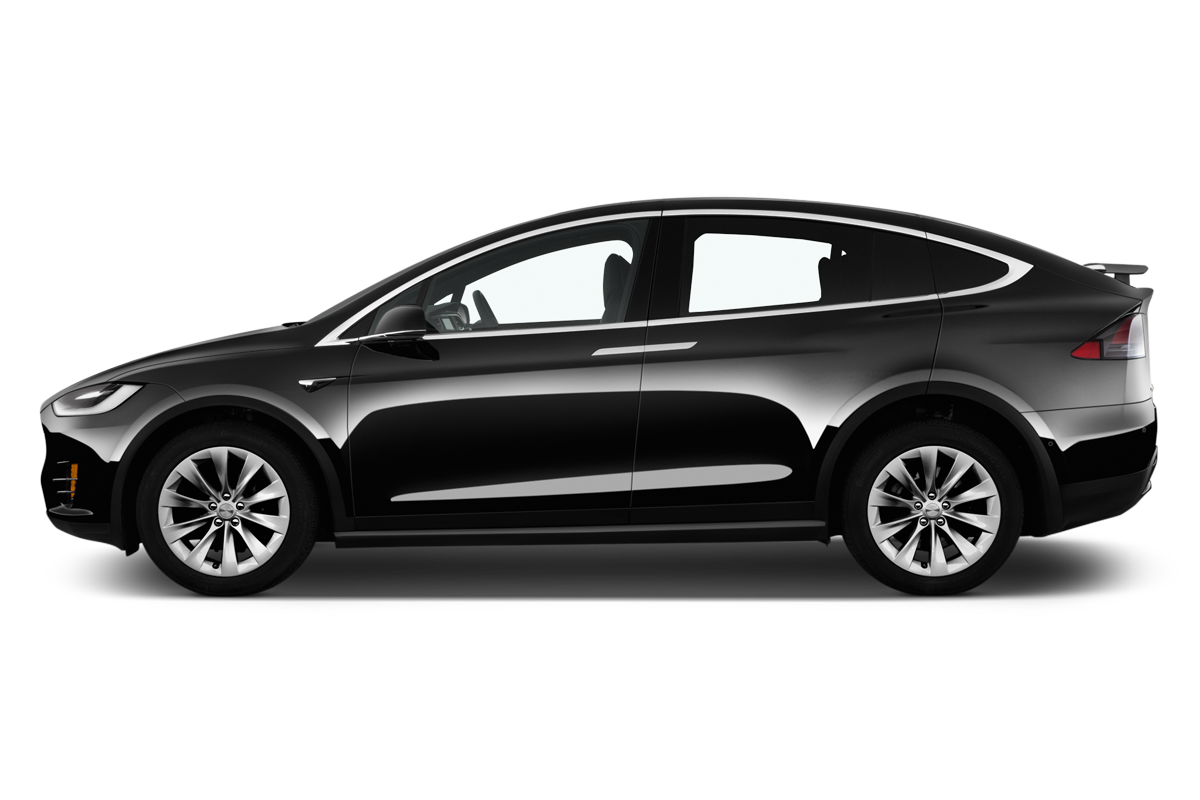 Tesla Model X side view