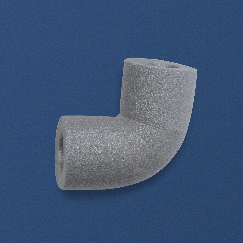 50x CLIMAPOR® Bogen 90° zu Rohrisolierung PE 28/13 28/13 28/13 3/4