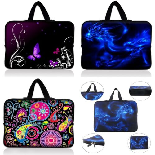 """15/"""" 15.6/"""" Laptop Bag Sleeve Notebook Case Cover Hand Bag Print Bag Butterfly US"""