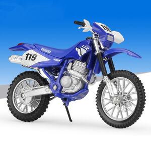 YAMAHA tt-r250 Blu # 119 Maisto 1:18 Moto Modello Die-Cast Model