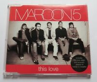 Maroon 5 - This Love  - 3 TRACK MAXI CD mit Video