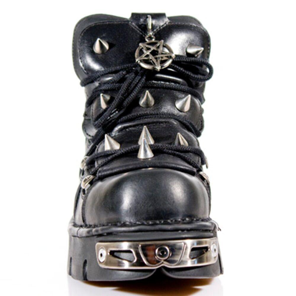 NEU Rock Style Stiefel Unisex Style Rock 110 S1 schwarz ef602a