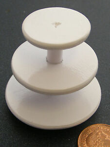 1-12-Scale-Empty-Three-Tier-Wooden-Cake-Stand-Dolls-House-Miniature-Accessory-W