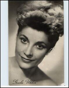 DDR-Progress-Starfoto-Schauspielerin-Kino-Buehne-DEFA-Film-Portraet-GISELA-UHLEN
