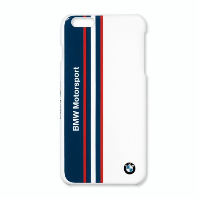 brand new 869ed 0f6b8 Genuine BMW Motorsport Apple iPhone 6 6s Mobile Phone Hard Cover Case