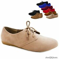 Women's Oxfords Moccasins Flat Loafers Ankle Lace Up Bootie Boots Shoes Forever