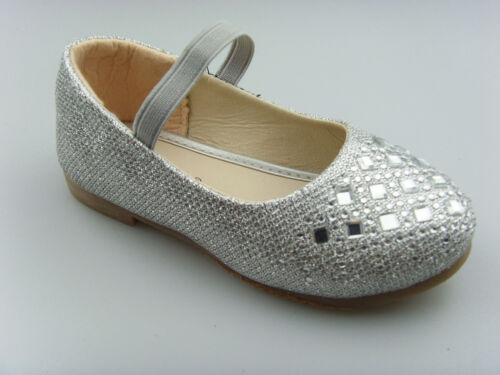 Kid/'s Girl/'s Glitter Party shoe Dress shoes Mary Jane Ankle Strap Flats DIMON15K