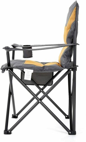 ARROWHEAD OUTDOOR Portable Folding Camping Quad Chair w//Added Extra Padding