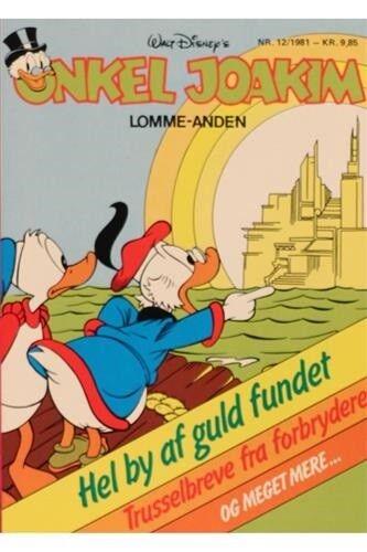 Onkel Joakim Lommeanden 1981 , Tegneserie