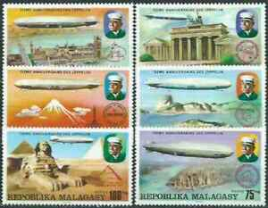 Timbres-Dirigeables-Madagascar-580-3-PA167-8-36243-cote-14