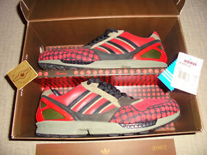 huge discount 45c93 f4127 Details about Adidas Torsion ZX 9000 Schuhe Lux Tomatina US13 FR48 05/2007  Berlin 8000 OVP