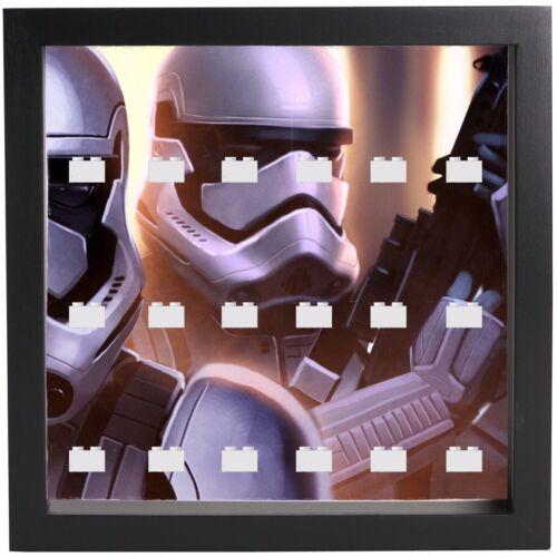 Lego Star Wars Stormtrooper Minifigures Display Case Picture Frame mini figures